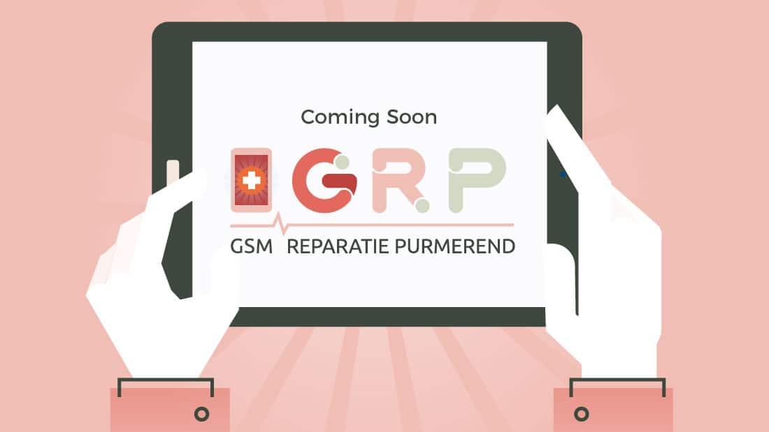 Aankondiging nieuwe website / huisstijl GRP
