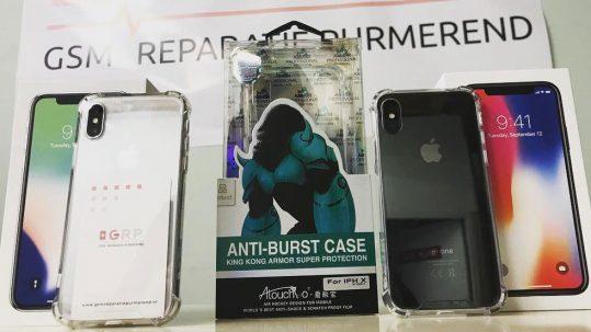GSM Reparatie Purmerend iPhone X premium siliconen cases