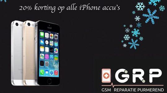 korting iphone accus GSM Reparatie Purmerend